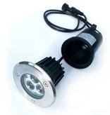 Ledika LED Outdoor Grond spot 3W warm wit