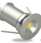 Ledika LED Inbouwspot Set micro 6st 1W warm wit dimbaar