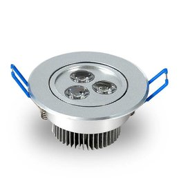 Ledika LED Inbouwspot 3W warm wit dimbaar