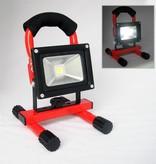 Ledika LED Schijnwerper Draagbaar 10W 800lm IP65 daglicht wit