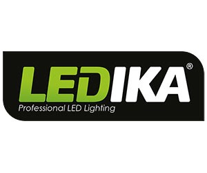 Ledika LED Schijnwerper 10W 700lm IP65 interne PIR sensor daglicht wit