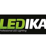 Ledika LED Schijnwerper - Met bewegingssenor 20W-1800lm - IP65 – Zwart Neutraal wit