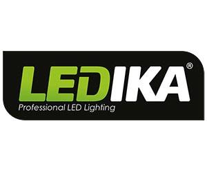 Ledika LED Schijnwerper 50W - Met bewegingssenor - 50W - IP65 – Zwart Neutraal wit