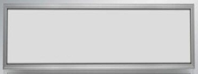 Ledika LED Paneel 60x30cm 24W - Silver