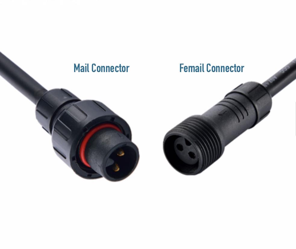 Ledika LED Outdoor Male connector kabel WW