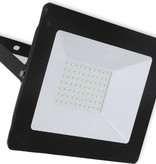 Ledika LED Schijnwerper - Voor buiten - 10 W- IP65 - Zwart - 4000K - IP65 - 2 jaar Neutraal wit