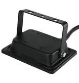 Ledika LED Schijnwerper - Voor buiten - 20 W- IP65 - Zwart - 4000K - IP65 - 2 jaar Neutraal wit