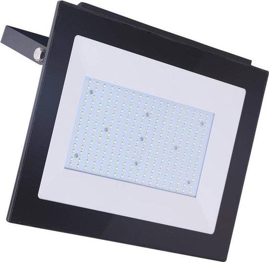 Ledika LED Schijnwerper - Voor buiten - 150 W- IP65 - Zwart - 6500K - IP65 - 2 jaar Neutraal wit