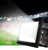 Ledika LED Schijnwerper - Voor buiten - 200 W- IP65 - Zwart - 6500K - IP65 - 2 jaar Neutraal wit