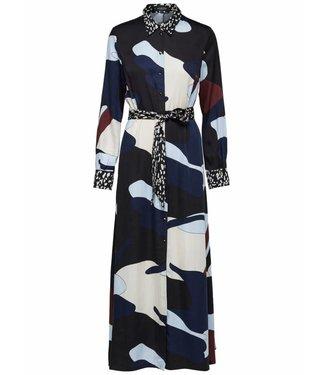 Selected Femme 16063011 SLFLILLA LS MAXI SHIRT DRESS Multicolor