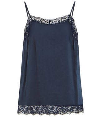Vila 14044577 Vicava Lace Singlet Total Eclipse