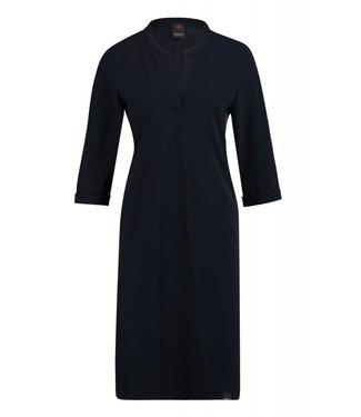 Penn&Ink W18N352 Dress navy/ivory 55/110