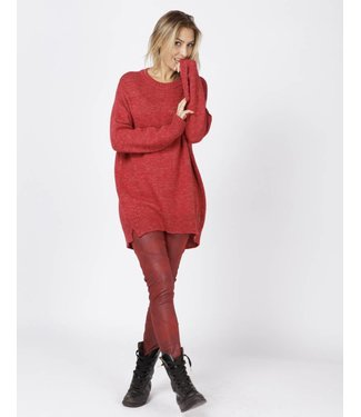 Moscow FW18-55.02 Oversized Sweater rosewood