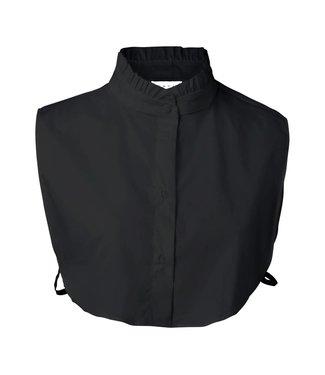 Yaya 139104-821 Bib Collar victorian style Black