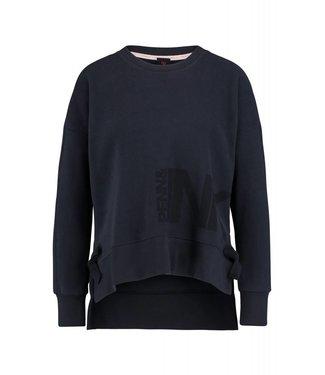 Penn&Ink W18F328 Sweater print navy 55