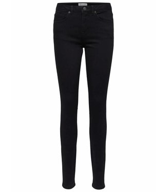 Selected Femme 16064383 SLFIDA mw skinny black jeans Noos Black demin