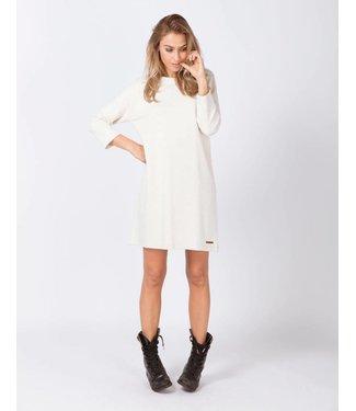 Moscow FW18-48.02 Dress whisper white melange