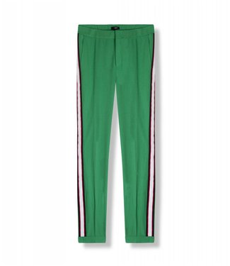 Alix 185126792-732 ladies woven regular stretch pants Green