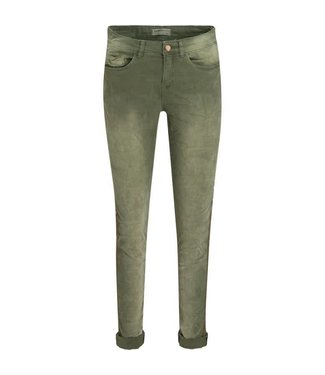 Summum 4s1584-10694 Trousers utility twill 669-Bottle green
