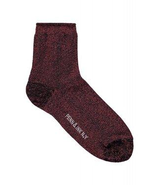 Penn&Ink W18F399 Glitter Socks love 31