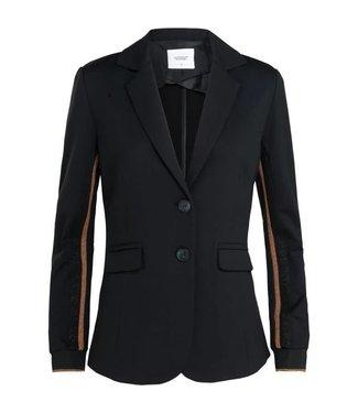 Summum 1s879-3979 Blazer jersey sporty suiting 990-black