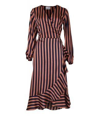 Neo Noir 150051 Riva Broad Dress 668 Burnt Orange