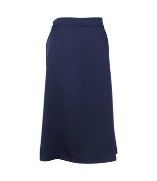 Neo Noir 150062 Junes Satin Skirt  141 Navy