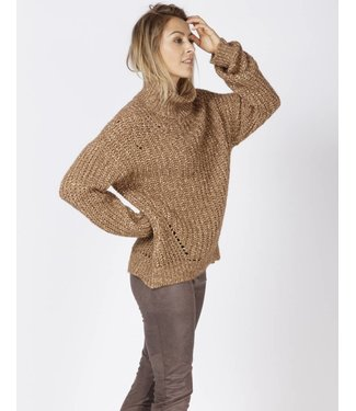 Moscow FW18-57.02 Cowl Sweater Bronze melange