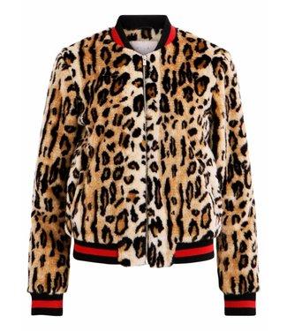 Vila 14050244 Vifleur leo jacket Sandshell