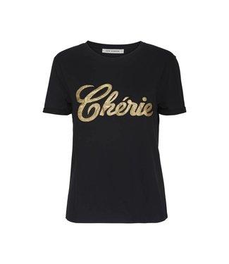 Sofie Schnoor S184282 Black T-shirt