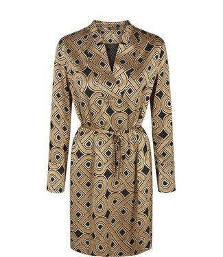 Mos Mosh 125400 Lipa Printed Dress – 913 Golden Print