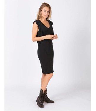 Moscow HW18-03.01 Dress Heavy Crepe Jersey Black