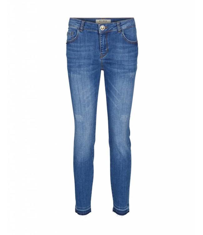 Mos Mosh 125160 Summer Lt. Deluxe Jeans – 410 Blue Denim