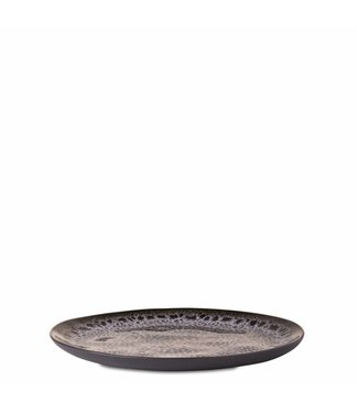 Yaya Home H300039 Breakfast plate jaguar pattern Grey melange
