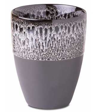 Yaya Home H300042 Mug jaguar pattern Grey melange