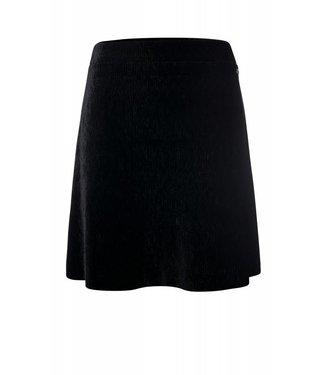 Dayz Pip- Velvet plissé Skirt