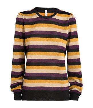 Summum 3s4201-30006 Long sleeve sparkling stripe