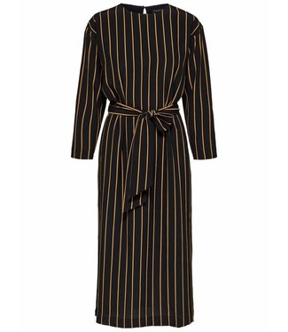 Selected Femme 16065108 SLFalessa 7/8 midi Dress Stripes