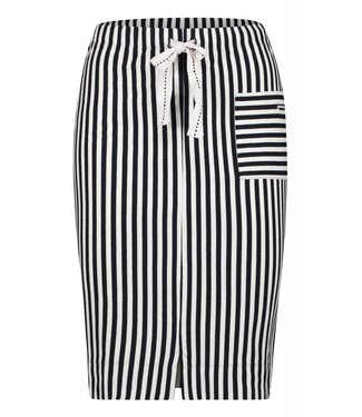 Penn&Ink S19F516 Skirt Stripe