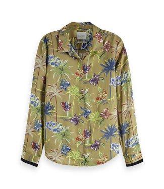 Maison Scotch 149772  Regular drapey fit shirt in various prints