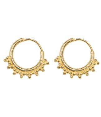 Anna+Nina 021529GP0000 Tiny goa earring medium
