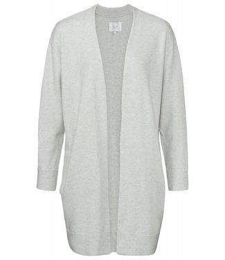 Yaya 101038-911 Long classic cardigan with side pockets