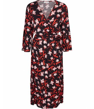 MOSS Copenhagen 13942 Adela Wrap Dress AOP