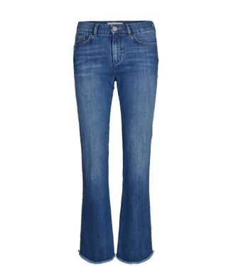 Mos Mosh 127030 Percy Frill Flare Jeans