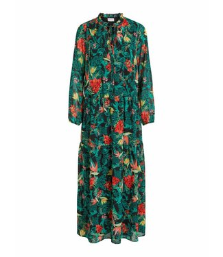 Vila 14051924 Vinema amazonas maxi dress/rp