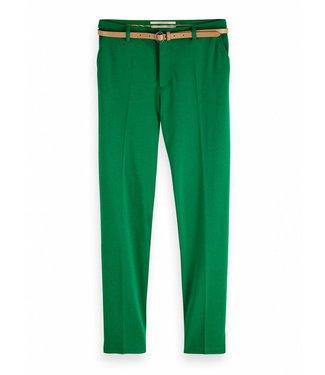 Maison Scotch 149890 Tailored sweat pants sold with belt