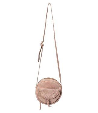 Yaya 131319-912 Round small suede bag
