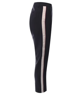 Maison Scotch 149913 Tailored stretch pants with contrast side panel