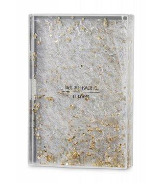 Yaya Home H000122 Acrylic glitter photo frame gold