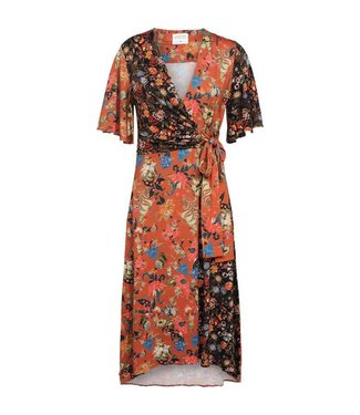 Summum 5s1027-30022 Dress flower print